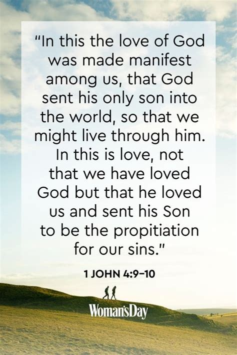 The bible tells us, see what great love the father has lavished on us, that we should be called children of god! 18 Bible Verses About God's Love - Bible Verses About Love