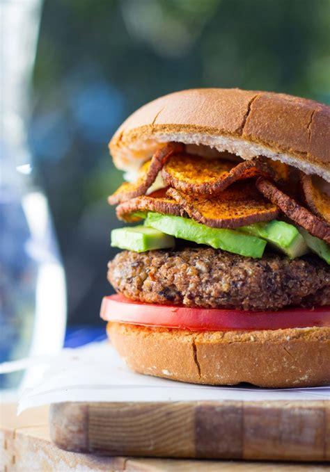 black bean burger recipe vegan healthy vegetarian meal plan 7 23 16 joanne eats well
