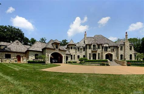 Staircase Beach Malibu by 15 000 Square Foot Stone Mansion In Ladue Mo Homes Of