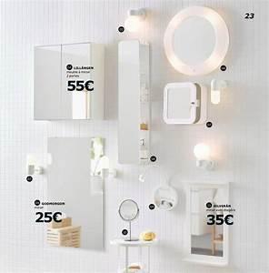 Miroir Salle De Bain Ikea : salle de bains ikea le nouveau catalogue 2017 est en ligne c t maison ~ Teatrodelosmanantiales.com Idées de Décoration