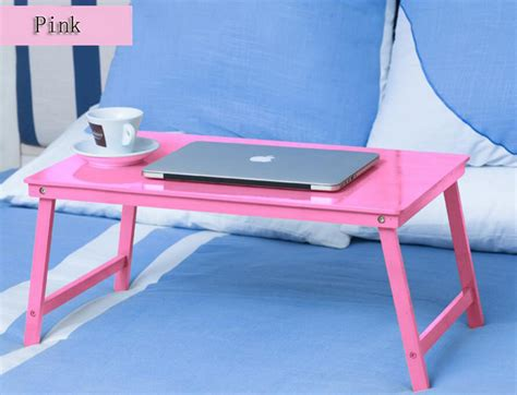 bamboo wood contour lap desk fashion style portable lapdesks folding laptop table bed