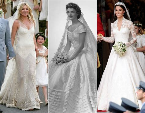The Most Famous & Iconic Wedding Dresses