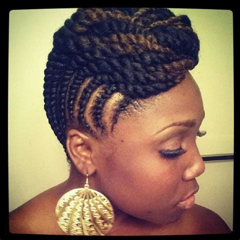 Twists Updo Hairstyles Americans by Updo Ideas For Hair