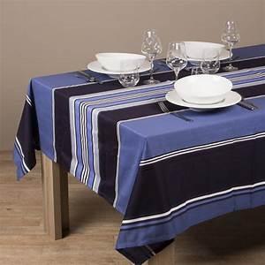 Nappe Table Rectangulaire : nappe rectangulaire ispeguy bleu galerie de garazi ~ Teatrodelosmanantiales.com Idées de Décoration