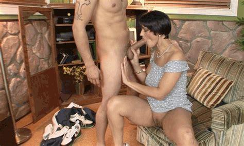 Granny Mature Mom Handjob  Cumception