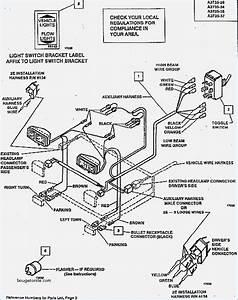 Blizzard Plow Light Wiring Diagram  U2013 Vivresaville Com