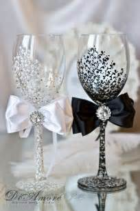 deco mariage diy diy wedding chagne glasses ideas