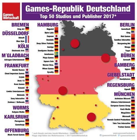 Hersteller Deutschland die 50 gr 246 223 ten entwickler in deutschland