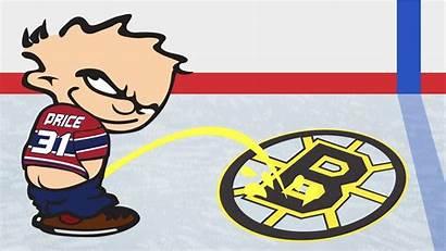 Bruins Boston Clipart Habs Bad Hockey Piss