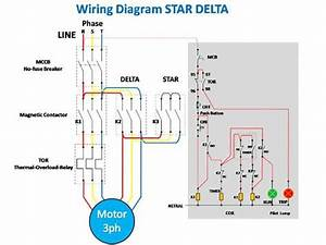Star Delta Control Wiring Diagram Images