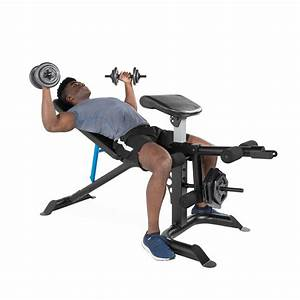 Full Body Workout Machine Bench Press Arm Preacher Curl Leg Weight Lifting Gym 702556303061