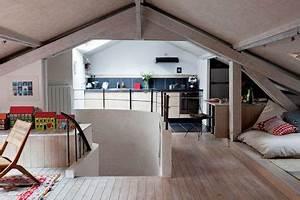 Appartement Sous Comble : 30 m2 bien agenc s sous les combles c t maison ~ Dallasstarsshop.com Idées de Décoration