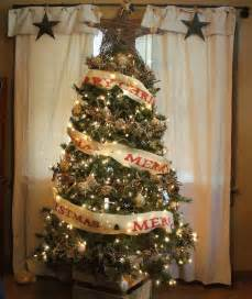 rustic christmas trees in log homes myideasbedroom com