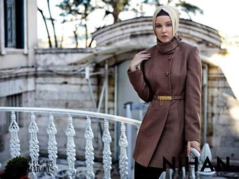 autumn  winter hijab wearing  modern fashion