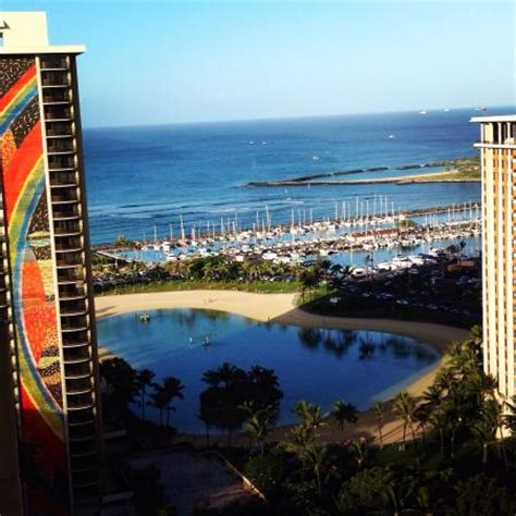 Ocean view from the Tapa tower  Picture of Hilton