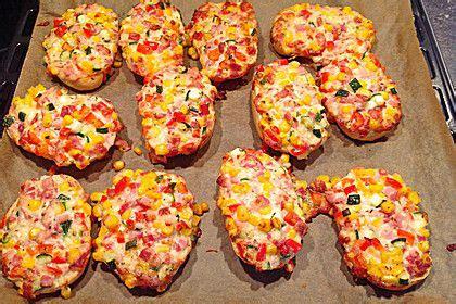 Superschnelle Pizzabrötchen Essen