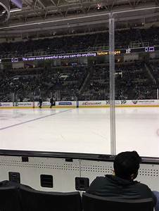 Sap Center Section 101 Row 3 Seat 12 San Jose Sharks