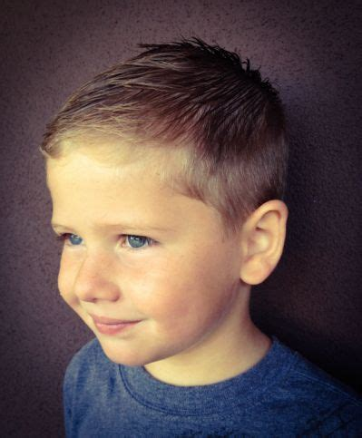 6 Year Boy Hairstyles by Boy Haircut Hairstyles Pictures The Boys