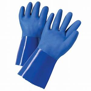 Shop Blue Hawk Large Men's Rubber Chemical Gloves at Lowes com