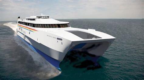 Largest Catamaran Ferry by New Catamaran For Virtu Ferries