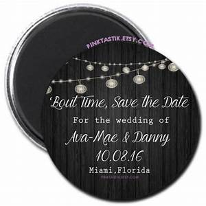 rustic wedding save the date magnets wedding invites With wedding invitations with save the date magnet