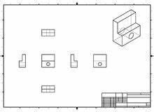 Technische Zeichnung Ansichten : orthogonale ansichten eines gelandeten flugzeuges vektor abbildung illustration von himmel ~ Yasmunasinghe.com Haus und Dekorationen