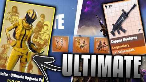 Purchasing New Fortnite Ultimate Pack!!! (limited Edition