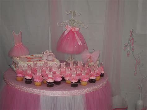 Baby Shower Ballerina Theme -