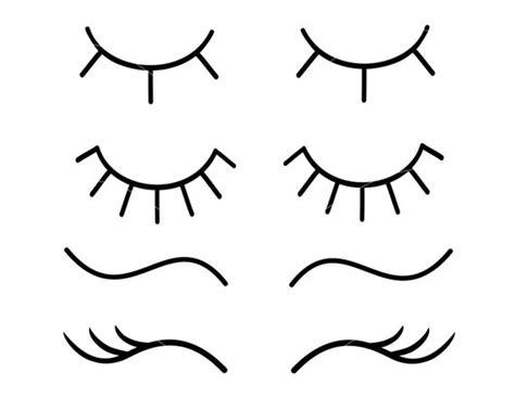 eyelashes svg unicorn eyelashes svg eye lashes svg lashes svg