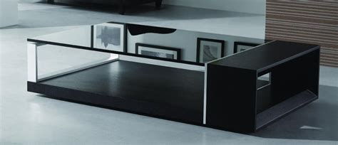 black contemporary coffee table contemporary coffee table with black glass top el monte