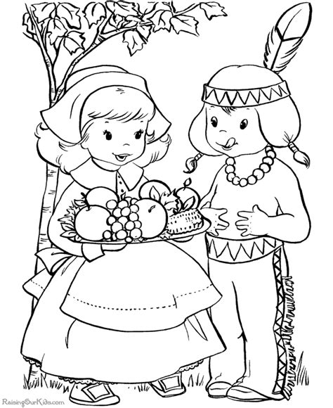 happy thanksgiving coloring pages 001