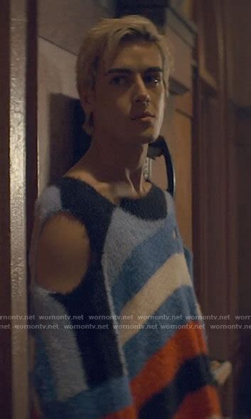 WornOnTV: Shane's striped sweater with holes on Tiny ...