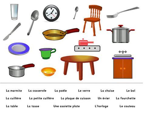lexique ustensiles de cuisine autour de la gastronomie la cuisine vocabulaire de base