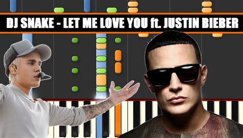 Let Me Love You (dj Snake Ft. Justin Bieber) Piano