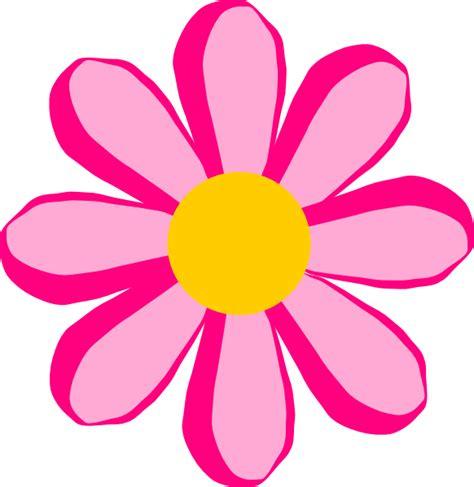 pink flower  clip art  clkercom vector clip art