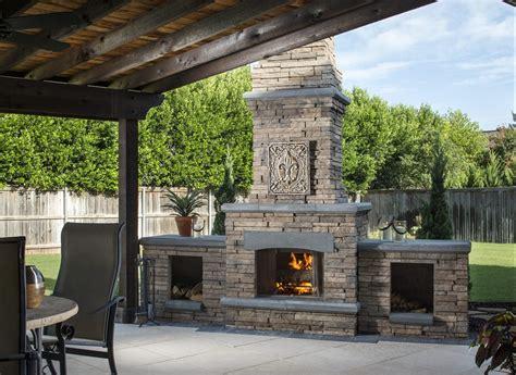 outdoor fireplace design ideas outdoor living  belgard