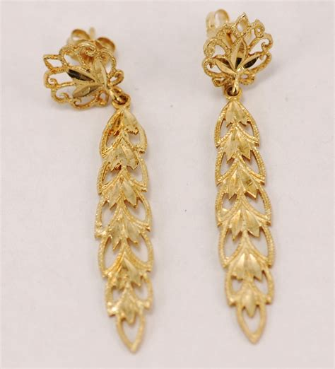 Gold Earrings At Thebrazilianconnectionm. Easy Diy Beads. Tamil Beads. Art African Beads. Designer Men Beads. Green Beads. Freshwater Pearl Beads. Trident Beads. Vintage Beads