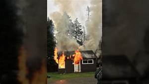 Man killed in house fire at Campbell River RV park | CTV News