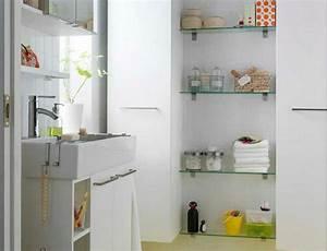 Meuble Pour Petite Salle De Bain : le rangement de salle de bains ~ Melissatoandfro.com Idées de Décoration