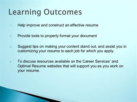 optimal resume bryant and stratton optimal resume bryant