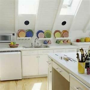 Tolle Ideen Für Kleine Küchen : tolle dachgeschoss kuche ~ Bigdaddyawards.com Haus und Dekorationen