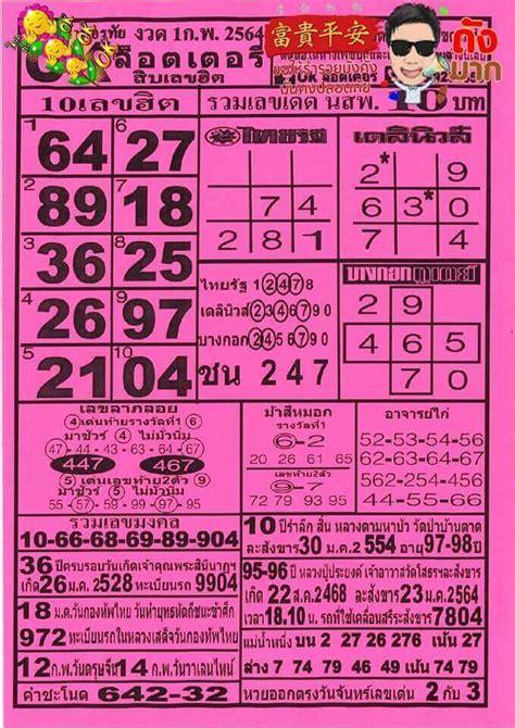 อัพเดทข้อมูลแนวทาง หวยเด็ด และ เลขเด็ด งวด 2 พฤาษภาคม 64 ชุด. เลขเด็ดหวยดังงวดนี้ 01/02/64 ประจำวันที่ 29 มกราคม 2564