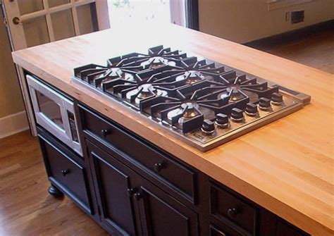 Wood Countertops With Undermount Or Overmount Sinks, Stoves Gas Stoves For Small Kitchens Ultralight Wood Stove Woodland Squirrel Lg Top Reviews Single Burner Electric Lowes Good Garage Cook Images Frigidaire Handle Replacement