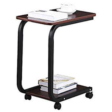 sofa tray table amazon amazon com go2buy modern coffee 2 tier sofa side end tv