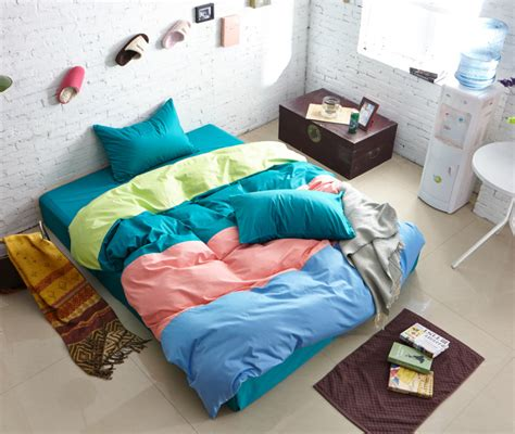 blue pink and green bedroom green blue pink yellow striped bedding comforter set