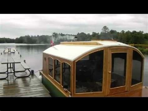 House Boat Trent Severn by Tiny Houseboat Trent Severn Part 4 Youtube
