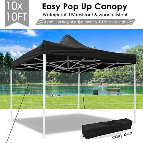 ez pop  canopy commercial tent sun shade shelter wcarry bag    ebay