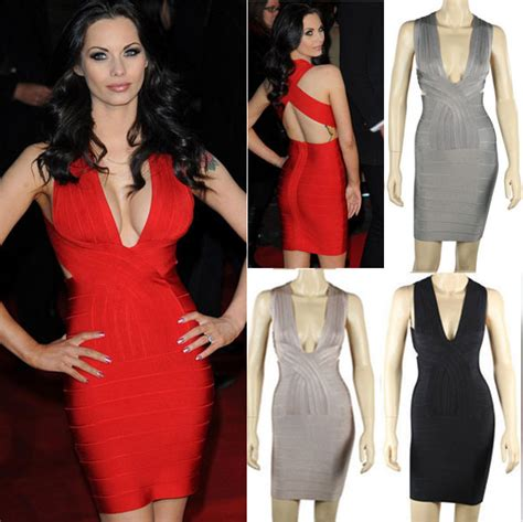 China 2015 Sexy Deep V Neck Back Criss Cross Rayon Bodycon ...