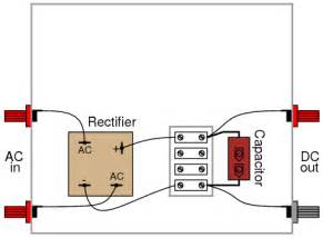 Lamp Replacement Cord by Rectifier Filter Circuit Discrete Semiconductor Circuits