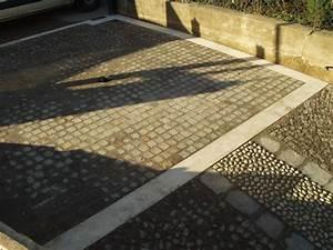 Pavimento scivolo garage con pendenza Fratelli Pellizzari